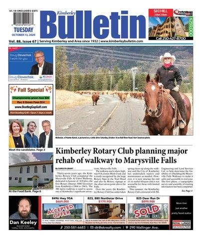 Kimberley Daily Bulletin, October 13, 2020