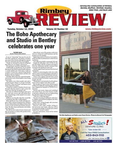 Rimbey Review, October 13, 2020