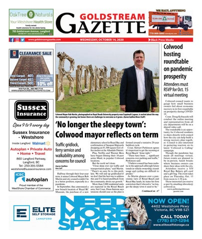 Goldstream News Gazette, October 14, 2020