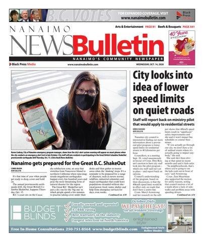 Nanaimo News Bulletin, October 14, 2020