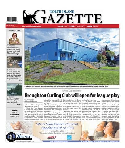 North Island Gazette, October 14, 2020