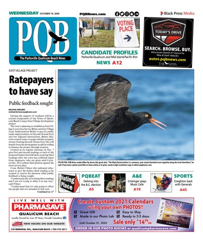Parksville Qualicum Beach News, October 14, 2020