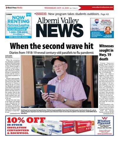 Alberni Valley News, October 14, 2020