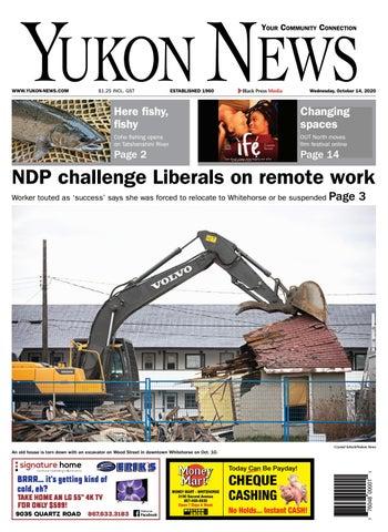 Yukon News, October 14, 2020