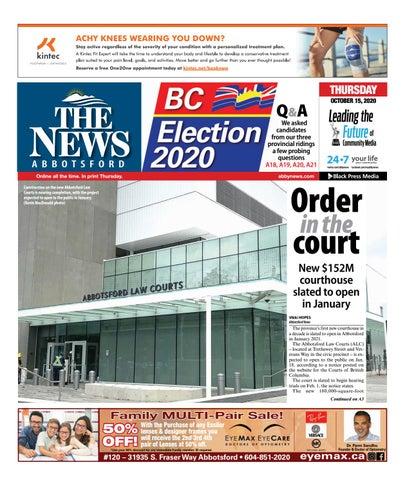 Abbotsford News, October 15, 2020
