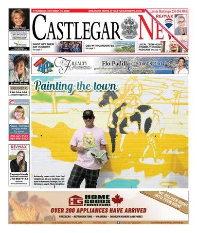 Castlegar News/West Kootenay Advertiser, October 15, 2020