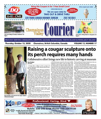 Chemainus Valley Courier, October 15, 2020
