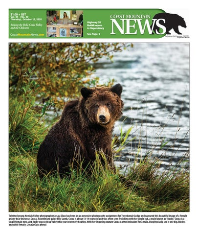 Coast Mountain News, October 15, 2020