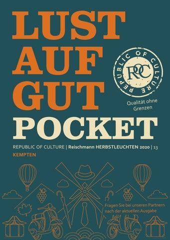 LUST AUF GUT Pocket | Reischmann HERBSTLEUCHTEN 2020 | Kempten