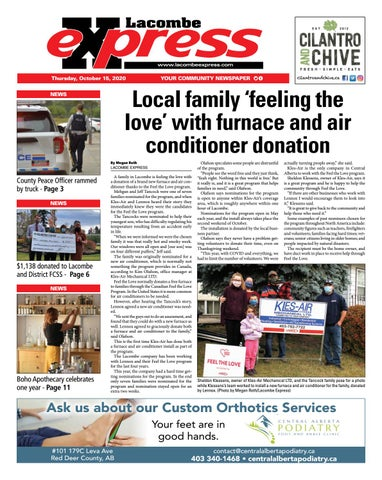 Lacombe Express, October 15, 2020