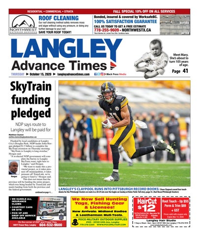 Langley Times, October 15, 2020