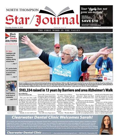 Barriere Star Journal, October 15, 2020