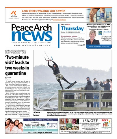 Peace Arch News, October 15, 2020