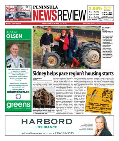 Peninsula News Review, October 15, 2020
