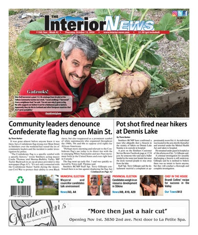 Smithers Interior News, October 15, 2020