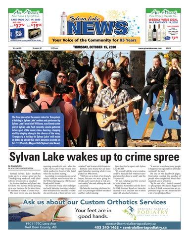 Sylvan Lake News, October 15, 2020