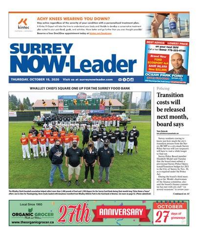 Surrey Now Leader, October 15, 2020