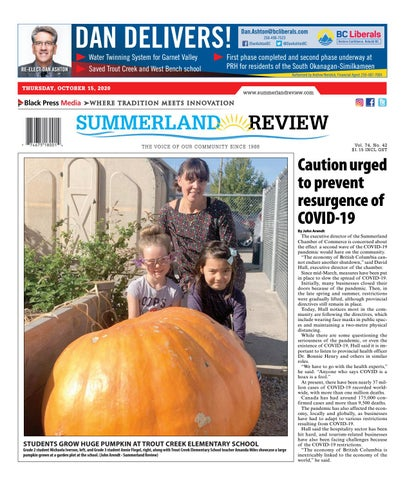 Summerland Review, October 15, 2020