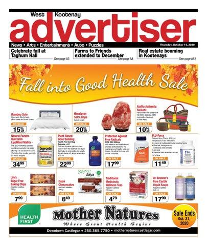 Grand Forks Gazette/West Kootenay Advertiser, October 15, 2020
