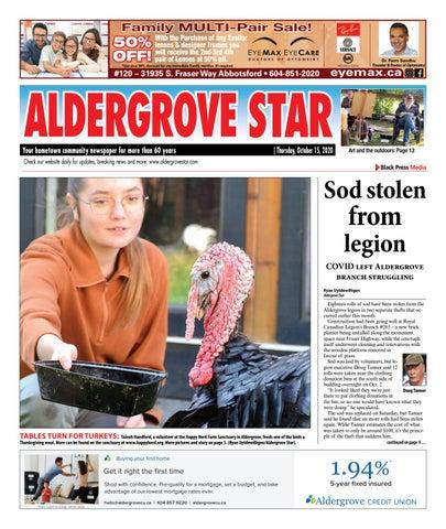 Aldergrove Star, October 15, 2020