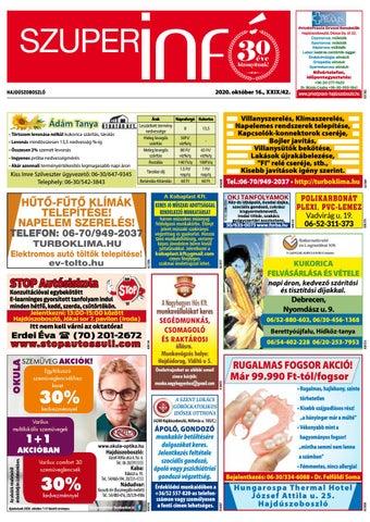 Hajduszoboszlo 2020.10.16