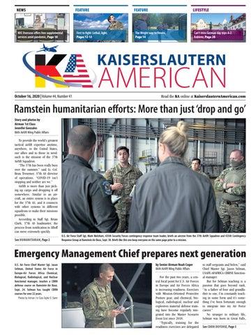 Kaiserslautern American - October 16, 2020