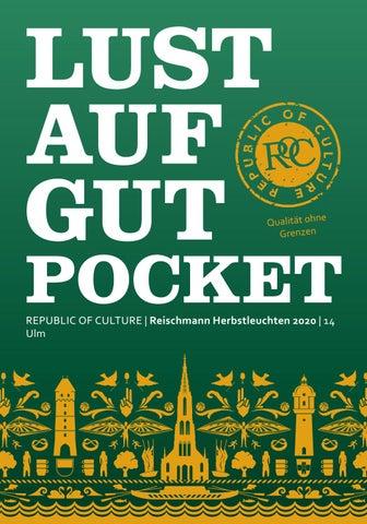 LUST AUF GUT Pocket | Reischmann HERBSTLEUCHTEN 2020 | Ulm