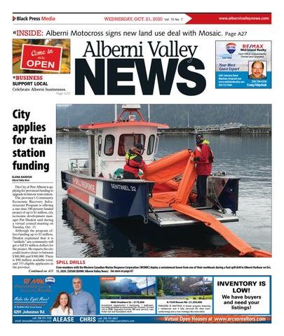 Alberni Valley News, October 21, 2020