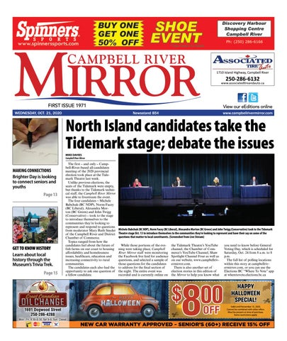 Campbell River Mirror, October 21, 2020