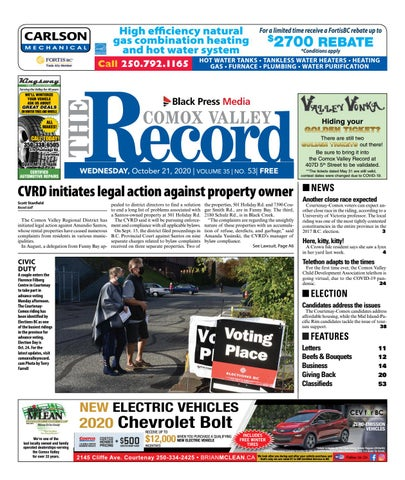 Comox Valley Record, October 21, 2020