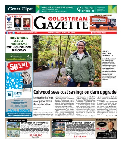 Goldstream News Gazette, October 21, 2020