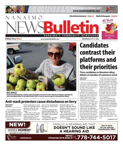 Nanaimo News Bulletin, October 21, 2020
