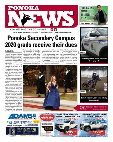 Ponoka News, October 21, 2020