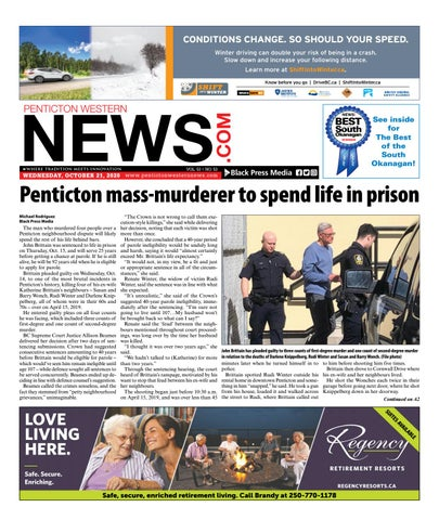 Penticton Western News, October 21, 2020