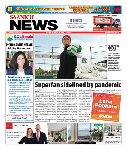 Saanich News, October 21, 2020
