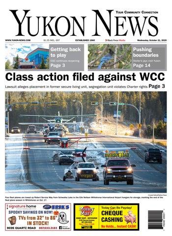 Yukon News, October 21, 2020