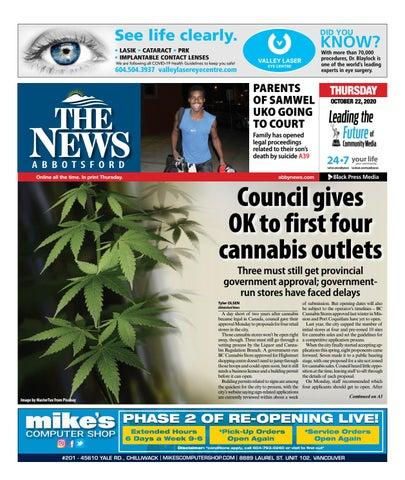 Abbotsford News, October 22, 2020