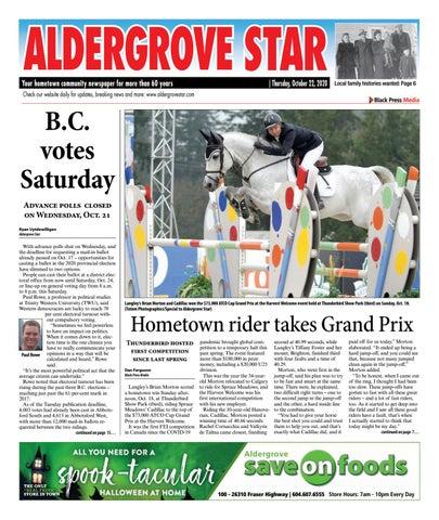 Aldergrove Star, October 22, 2020