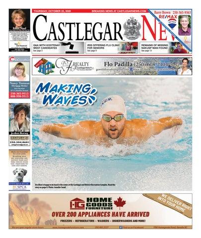 Castlegar News/West Kootenay Advertiser, October 22, 2020