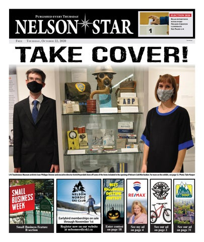 Nelson Star/West Kootenay Advertiser, October 22, 2020