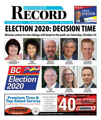 Mission City Record, October 22, 2020