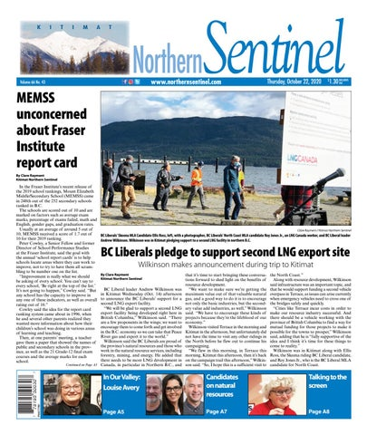 Kitimat Northern Sentinel/Northern Connector, October 22, 2020