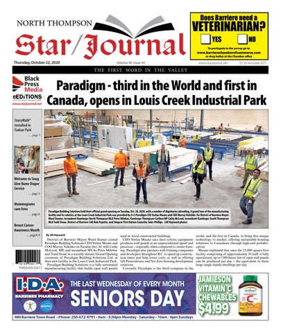 Barriere Star Journal, October 22, 2020