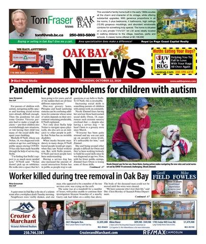 Oak Bay News, October 22, 2020