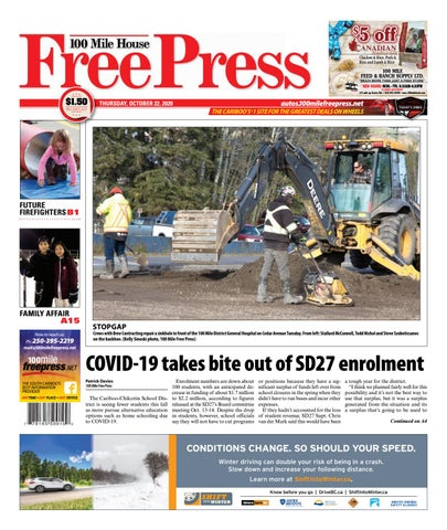 100 Mile House Free Press, October 22, 2020