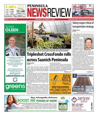 Peninsula News Review, October 22, 2020