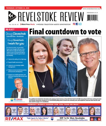 Revelstoke Times Review, October 22, 2020