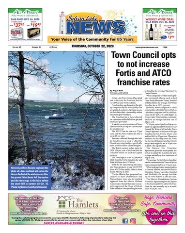 Sylvan Lake News, October 22, 2020