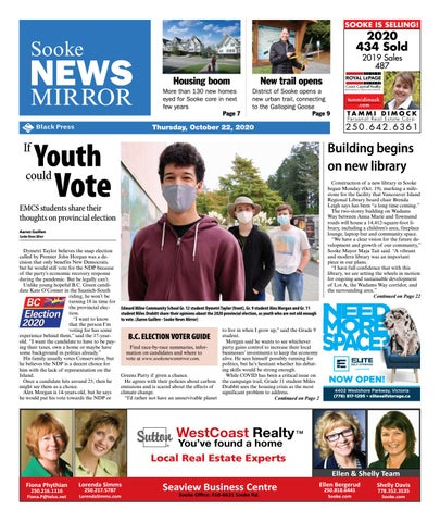 Sooke News Mirror, October 22, 2020