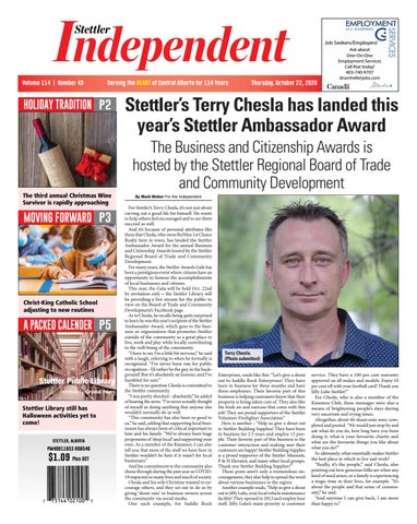 Stettler Independent, October 22, 2020